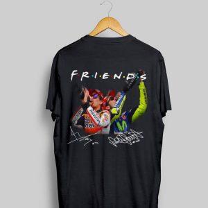 Marc Márquez Valentino Rossi Friends Signature shirt