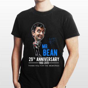 Mr Bean Anniversary 29th 1990-2019 Thank You For The Memories shirt