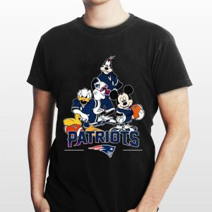 New England Patriots Donald Duck Goofy And Mickey Mouse shirt