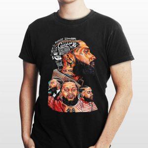 Nipsey Hussle Crenshaw and Slauson Hip hop shirt