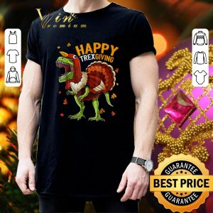 Official T-Rex Happy Trexgiving Thanksgiving shirt 2