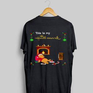 Pooh This Is My Hallmark Movie Watching shirt