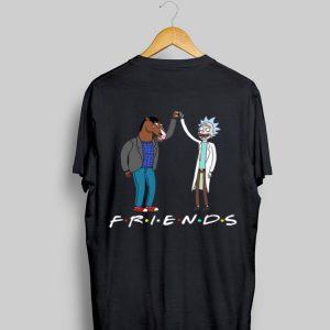 Rick Morty and Bojack Horseman Friends shirt