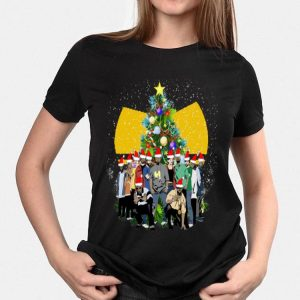 Simpsons Christmas Tree Wu Tang Clan shirt