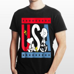 Snoopy And Charlie Brown American shirt