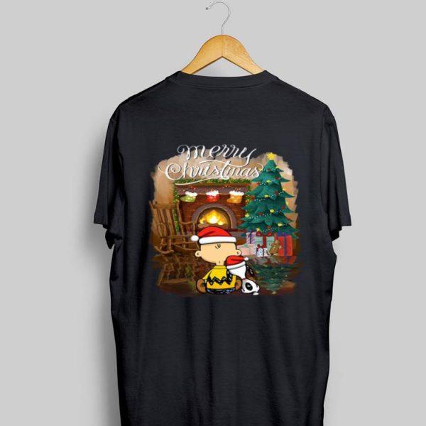 Snoopy Charlie Brown Merry Christmas shirt