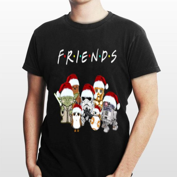 Star Wars All Characters Christmas Friends shirt