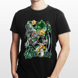 The Avengers Green Bay Packers shirt