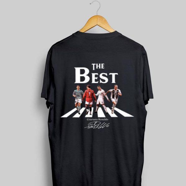 The Best Cristiano Ronaldo Abbey Road Signature shirt