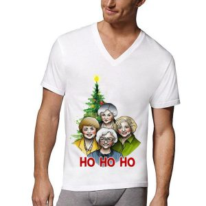 The Golden Girl Ho Ho Ho Christmas Tree shirt
