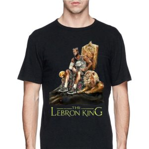 The Lebron King Lebron James shirt