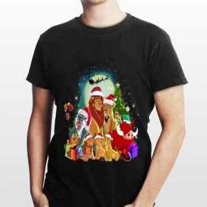 The Lion King Characters Merry Christmas shirt