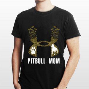 Under Armour Pitbull Mom Flower shirt