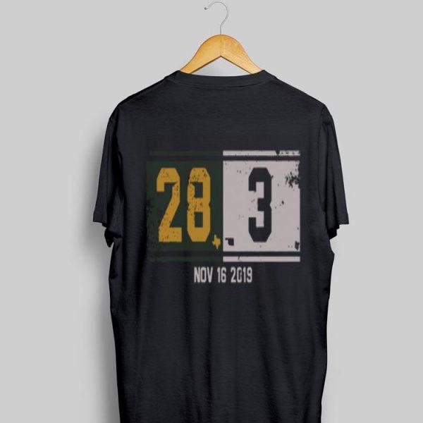 28-3 Comeback Nov 16 2019 shirt