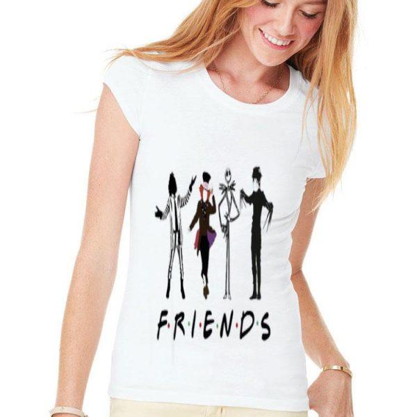 Beetlejuice Hatter Jack Skellington Edward Scissorhands Friends TV show shirt