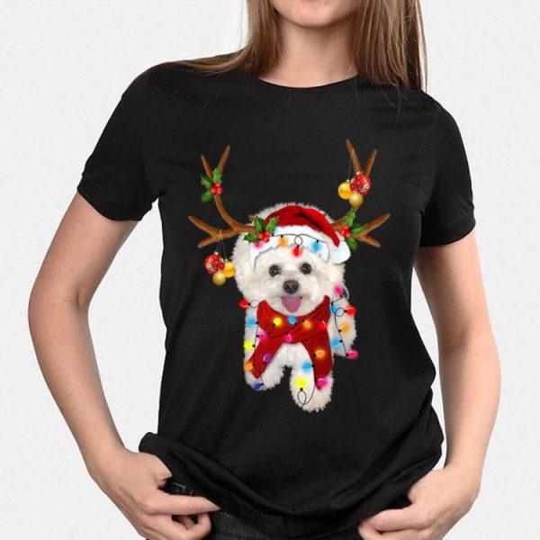 Bichon Frise Gorgeous Reindeer Christmas shirt