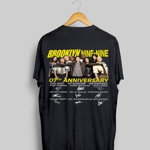 Brooklyn Nine-Nine 07th Anniversary Signatures shirt