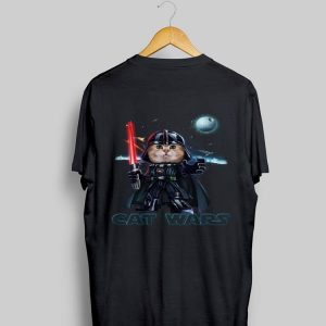 Cat Wars Darth Vader Star Wars shirt