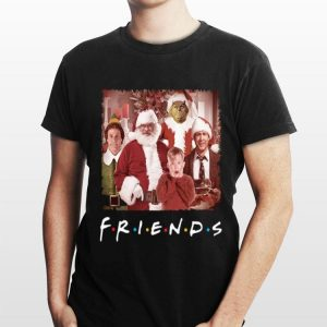 Christmas Characters Friends shirt