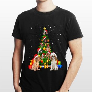 Christmas Tree gift Cavalier King Charles Spaniels shirt