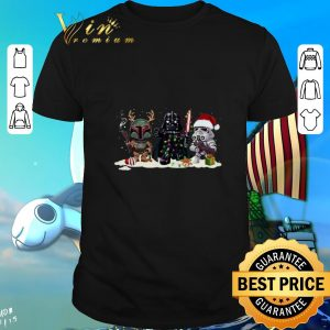 Darth Vader Stormtrooper Jango Fett Star Wars Christmas shirt