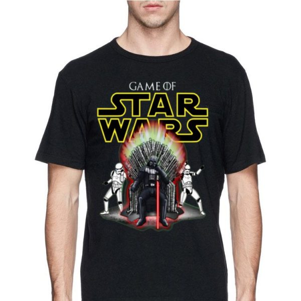 Darth Vader and Stormtrooper Game Of Star Wars Iron Throne shirt