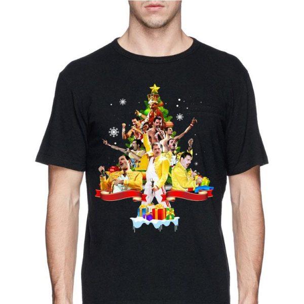Freddie Mercury Christmas Tree shirt