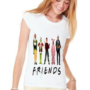 Friends Christmas Characters shirt