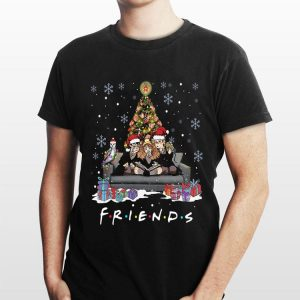 Friends Harry Potter christmas tree gift shirt