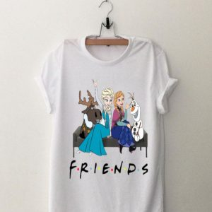 Friends Tv Show Frozen Characters shirt
