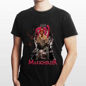 Game Of Thrones Max Scherzer Washington Nationals Iron Throne shirt