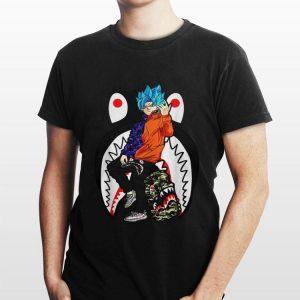 Goku Street Style Bape Adidas Yeezy shirt