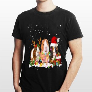 Guinea Pig Reindeer Christmas shirt