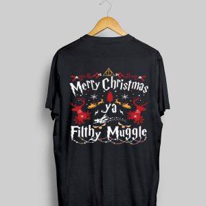 Harry Potter Merry Christmas ya Fillhy Muggle Christmas shirt