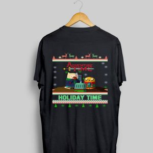 Holiday Time Adventure Time Christmas shirt