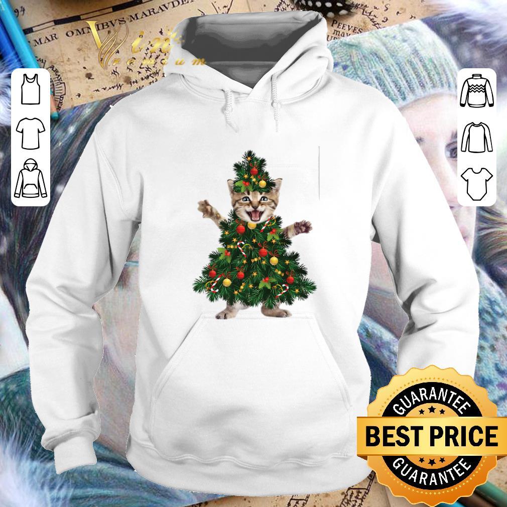 Hot Cat pine Christmas tree shirt 4 - Hot Cat pine Christmas tree shirt