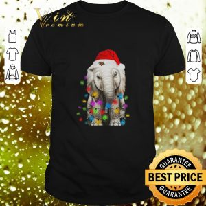 Hot Elephant String Light Christmas shirt