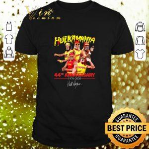 Hot Hulk Hogan Hulkamania 44th Anniversary 1976-2020 Signature shirt