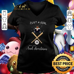 Hot Just a girl who loves Houston Astros and Christmas shirt