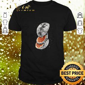 Hot Orange Lemon moon shirt
