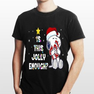 Is This Jolly Enough Christmas Washington Nationals Snoopy shirt