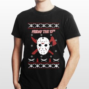 Jason Voorhees Friday the 13th ugly Christmas shirt