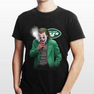 Joker Smoking New York Jets shirt