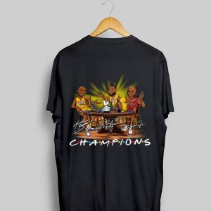 LeBron James Kobe Bryant Michael Jordan Champion Signatures shirt