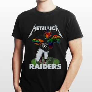 Metallica Hardwired Raiders shirt