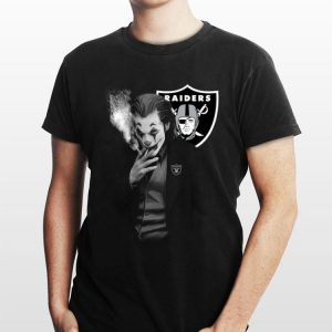 Oakland Raiders Joker Joaquin Phoenix shirt