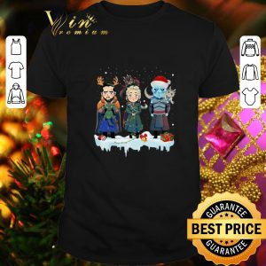 Original Jon Snow Daenerys Targaryen Night King chibi Christmas shirt