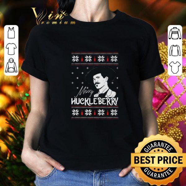 Original Merry Huckleberry Christmas shirt