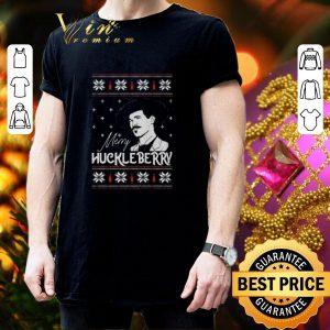 Original Merry Huckleberry Christmas shirt 2