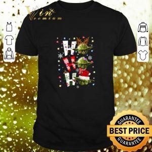 Original Yoda ho ho ho Christmas shirt